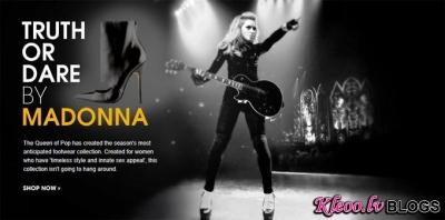 """Apavu kolecija  """"Truth or Dare""""  no Madonnas."""
