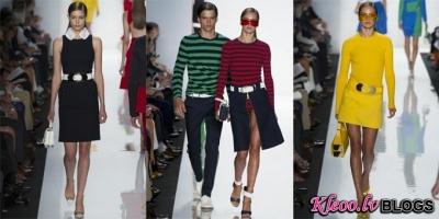New York fashion week: Michael Kors  2013 .