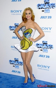 "Katy Perry – ""The Smurfs"" premjera Ņujorkā"