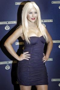 Christina Aguilera – C&A apģērbu līnijas preses konference Brazīlijā