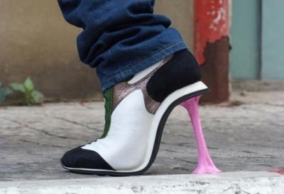 Neparastie apavi no Kobi Levi