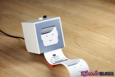 Mini printeris smartfonam.