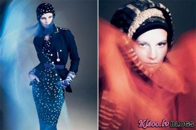 Sara Blomqvist reklāmas kampaņā.