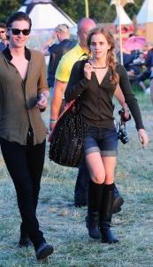 Emma Watson – Glastonbury mūzikas festivālā