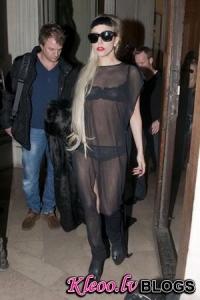 Леди Гага стала моделью