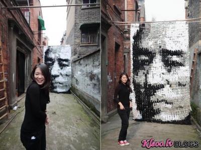 Māksliniece Hong Yi.
