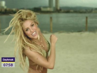 Shakira's jaunais ķermenis - iečeko jauno viedo!
