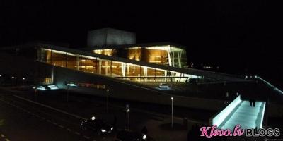 Naksnīgā Opera House Oslo.
