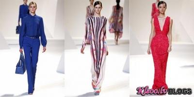 Paris fashion week: Elie Saab  2013.