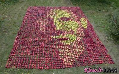 Portrets no āboliem.