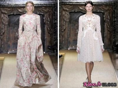 Valentino haute couture (pavasaris 2012).