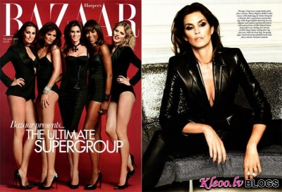 Supermodeles Harper's Bazaar UK .
