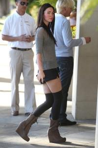 Megan Fox pie L'Hermitage viesnīcas Beverli Hilsā