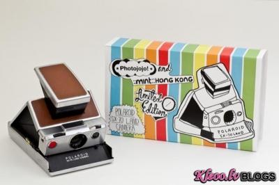 Saliekamais retro - Polaroid SX-70.