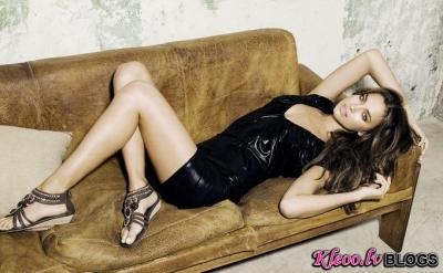 Irina Shayk XTI reklāmā.