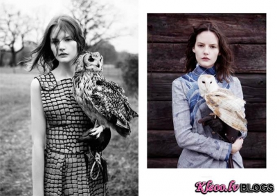 Sara Blomqvist žurnālā Twin.
