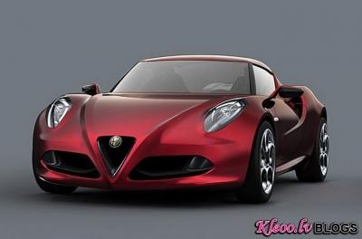 Jaunais  Alfa Romeo 4C