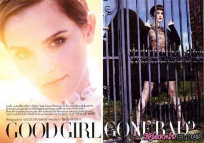 Emma Watson Harper's Bazaar UK.