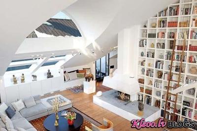 Jumta istabiņa Stokholmā.