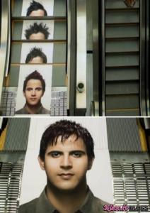 Ļoti kreatīvas reklāmas izmantojot elevatorus un liftus