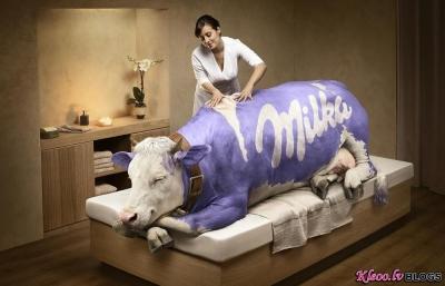 Кристоф Уэ - фантастическая реклама