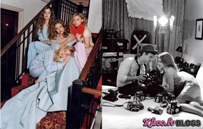 Natalia Vodianova maija Vogue US.