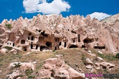 Древний подземный город в Турции