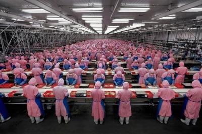 Edward Burtynsky - mazliet par Ķīnu (bildēs)
