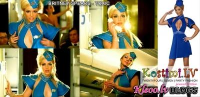 """Ar Kostimi.lv kā Britney Spears videoklipā """"Toxic"""""""