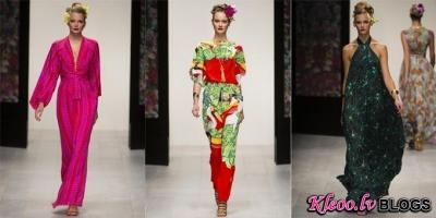 London fashion week: Issa 2013.