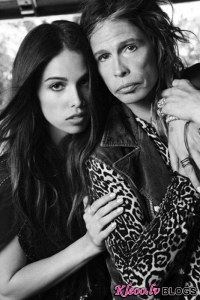 Младшая дочь Стивена Тайлера стала моделью