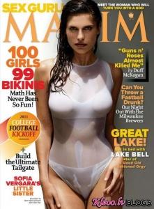 Lake Bell Maxim žurnālā