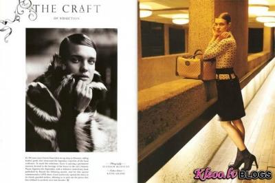 Natalia Vodianova Love Magazine #6