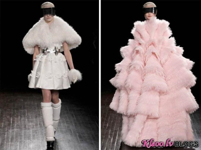 Paris Fashion Week: Alexander McQueen rudens 2012.
