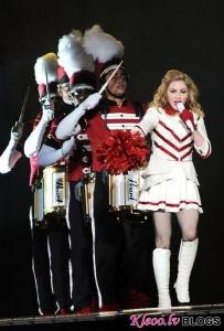 Мадонна снимает новое видео