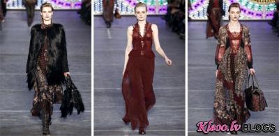 Modes nedēļa Parīzē: Kenzo Fall 2011
