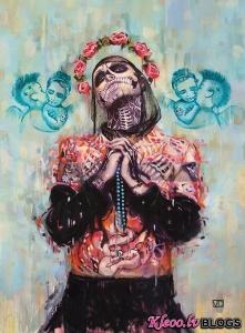 Māksliniece Vanessa Dakinsky .