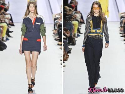 Lacoste (pavasaris 2012) modes nedēļā Ņujorkā.