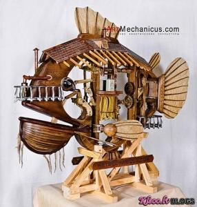 ArtMechanicus kinētiskās skulptūras.