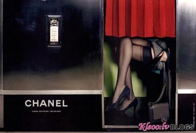 Valentino un Chanel (rudens-ziema 2011-12) reklāmas kampaņa.