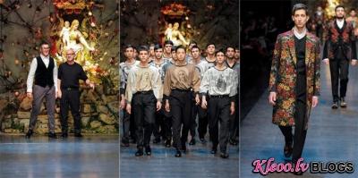 Dolce & Gabbana rudens 2013.
