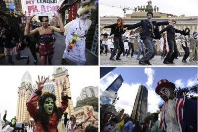 Zombiji pa visu pasauli!