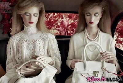 Fotosesija Vogue Italia  marts 2011.