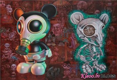 Mākslinieks Ron English.