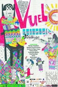 """Latvijas mākslas akadēmijā 73. karnevāls – izstāde """"Vuelo carneval"""""""