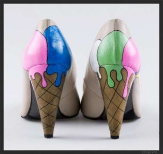 Saldējuma kurpes no Oyee Design