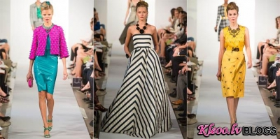 New York Fashion week: Oscar de la Renta  2013.