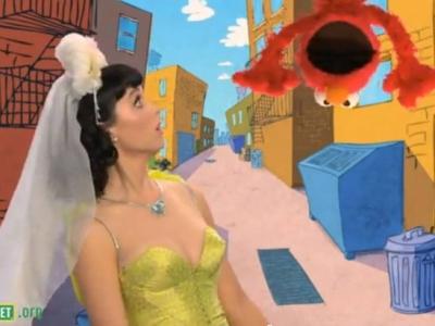 Katy Perry uz Sezama ielas
