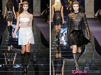 Milan Fashion Week: Versace rudens 2012 .