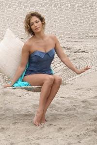 Jennifer Lopez – fotosesija Malibu pludmalē
